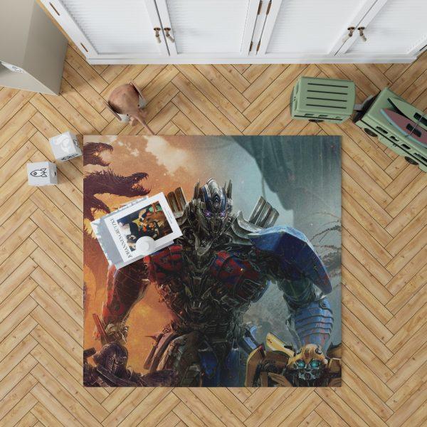 Optimus Prime Transformers the Last Knight Bedroom Living Room Floor Carpet Rug 1