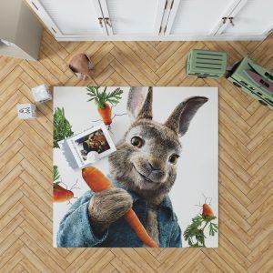 Peter Rabbit Animation Movie Bedroom Living Room Floor Carpet Rug 1