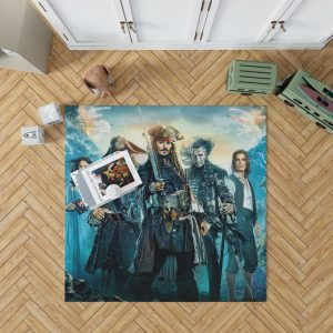 Pirates of the Caribbean Dead Men Bedroom Living Room Floor Carpet Rug 1