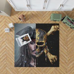 Pirates of the Caribbean Johnny Depp Bedroom Living Room Floor Carpet Rug 1