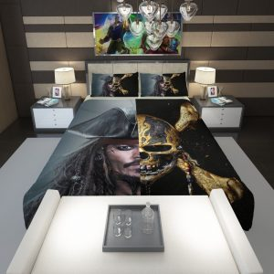 Pirates of the Caribbean Johnny Depp Comforter 1