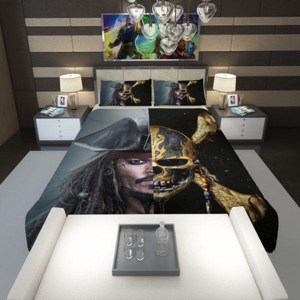 Pirates of the Caribbean Johnny Depp Comforter 1