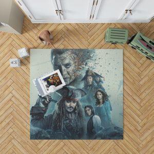 Pirates of the Caribbean Salazar Revenge Bedroom Living Room Floor Carpet Rug 1