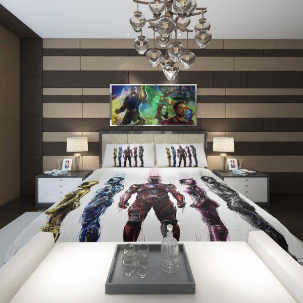 Power Rangers 5 Movie Bath Comforter 2
