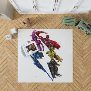 Power Rangers 5 Movie Bedroom Living Room Floor Carpet Rug 1