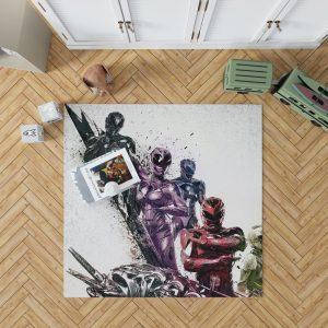 Power Rangers 5 Samurai Movie Themed Bedroom Living Room Floor Carpet Rug 1