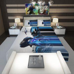 Power Rangers the Blue Ranger Comforter 1