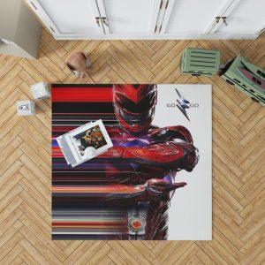 Power Rangers the Red Ranger Bedroom Living Room Floor Carpet Rug 1