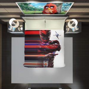 Power Rangers the Red Ranger Duvet Cover 2