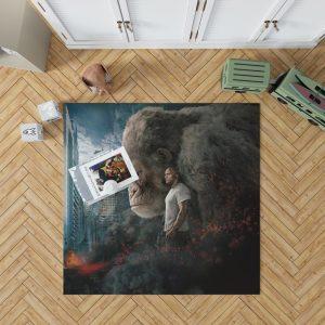 Rampage Dwayne Johnson Movie Bedroom Living Room Floor Carpet Rug 1