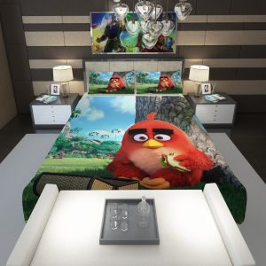 Red Angry Birds Movie Comforter 1