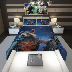 Rocket Raccoon Guardians of the Galaxy Comforter 1
