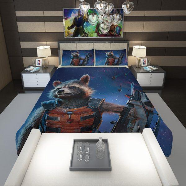 Rocket Raccoon Guardians of the Galaxy Comforter 1