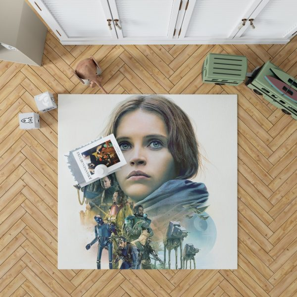 Rogue One A Star Wars Story Movie Bedroom Living Room Floor Carpet Rug 1