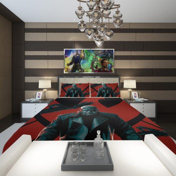 Samuel L Jackson Nick Fury Marvel Comics Comforter 2