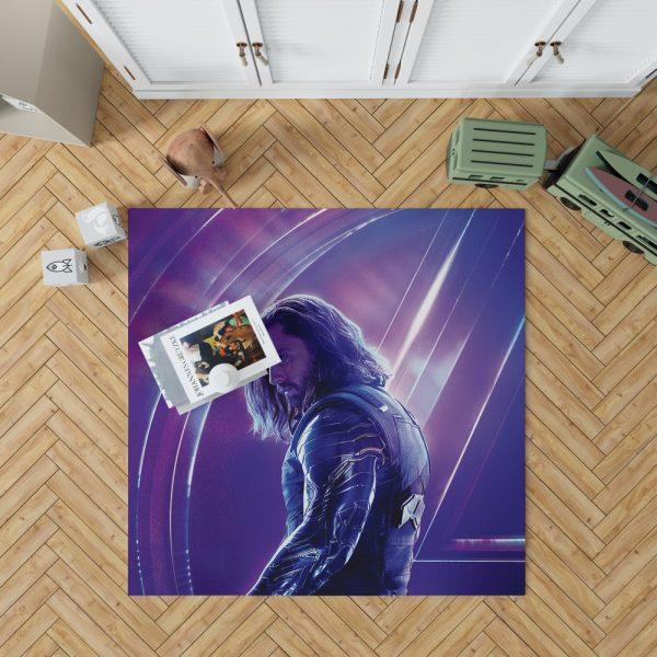 Sebastian Stan Bucky Barnes White Marvel Avenger Bedroom Living Room Floor Carpet Rug 1