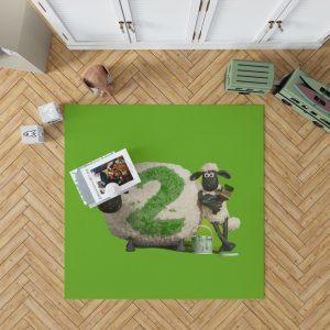 Shaun The Sheep movie Bedroom Living Room Floor Carpet Rug 1