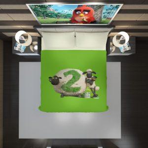 Shaun The Sheep movie Duvet Cover 2