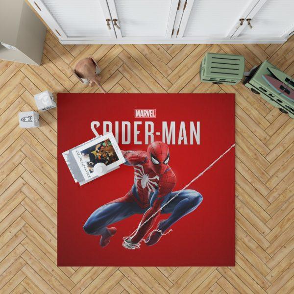 Spider Man Comics Marvel Avengers Bedroom Living Room Floor Carpet Rug 1