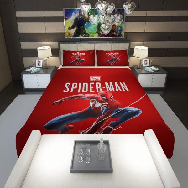 Spider Man Comics Marvel Avengers Comforter 1