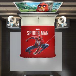 Spider Man Comics Marvel Avengers Duvet Cover 2