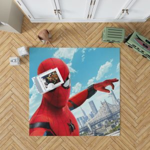Spider Man Home Coming Bedroom Living Room Floor Carpet Rug 1