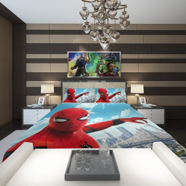Spider Man Home Coming Comforter 2