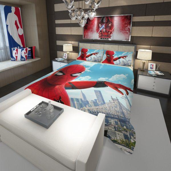 Spider Man Home Coming Comforter 3