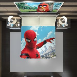 Spider Man Home Coming Duvet Cover 2