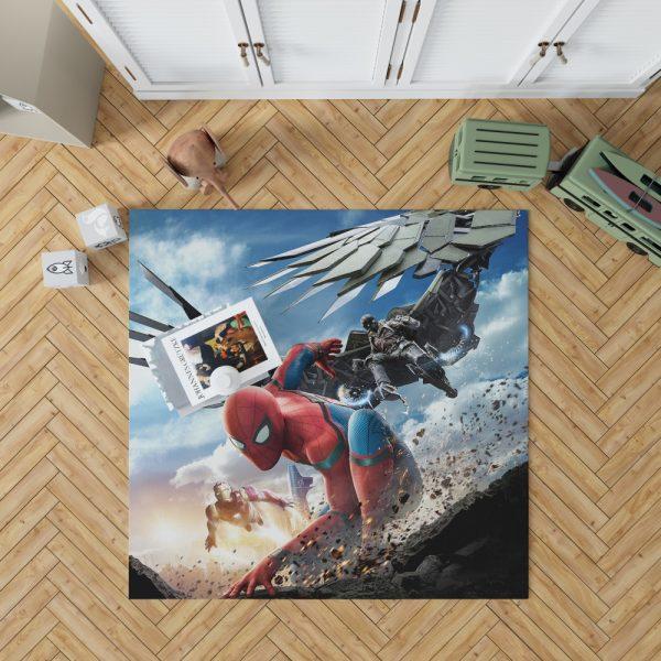 Spider Man Home Coming  Movie Themed Bedroom Living Room Floor Carpet Rug 1