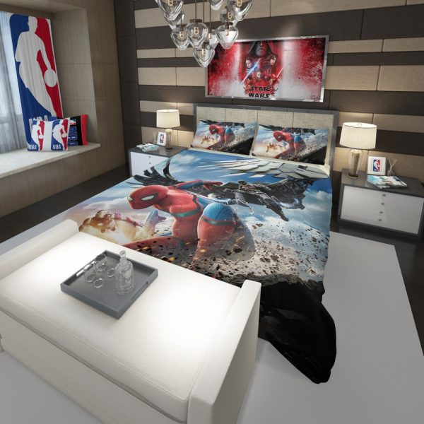 Spider Man Home Coming  Movie Themed Comforter 3