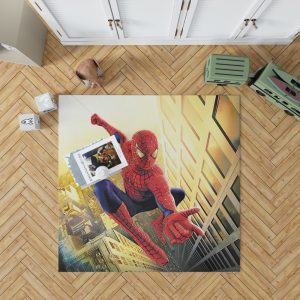 Spider Man Marvel Comics Avengers Bedroom Living Room Floor Carpet Rug 1