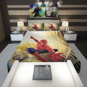 Spider Man Marvel Comics Avengers Comforter 1