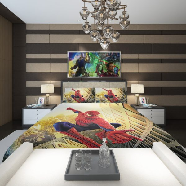 Spider Man Marvel Comics Avengers Comforter 2