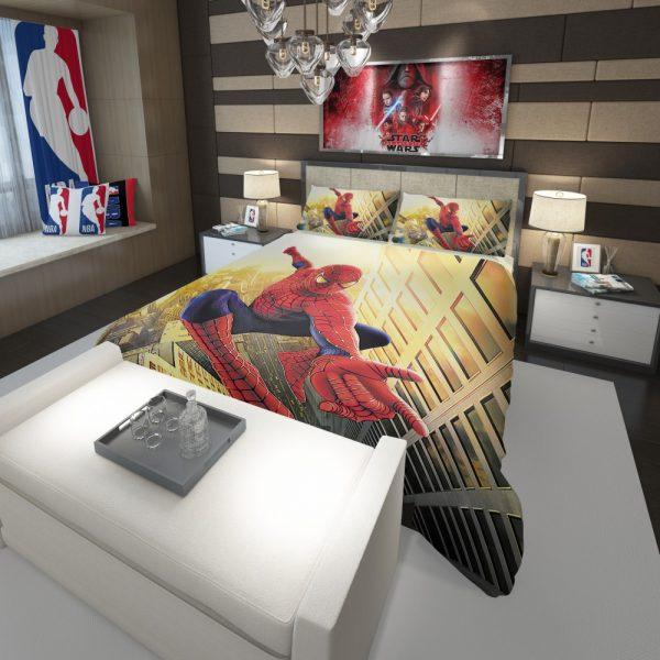 Spider Man Marvel Comics Avengers Comforter 3