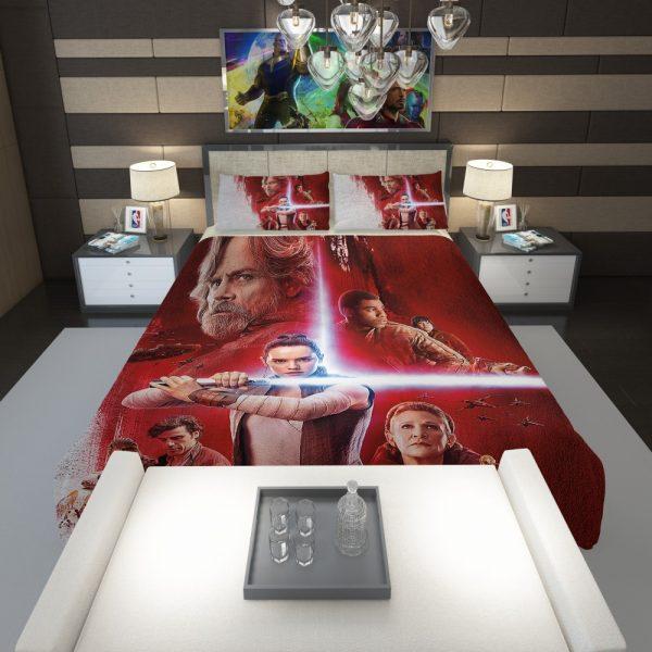 Star Wars The Last Jedi Comforter 1