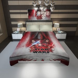Star Wars The Last Jedi Movie Themed Duvet Cover 1