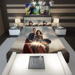 Superman And Wonder Woman Comforter 1