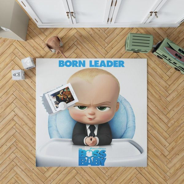The Boss Baby Animation Movies Bedroom Living Room Floor Carpet Rug 1