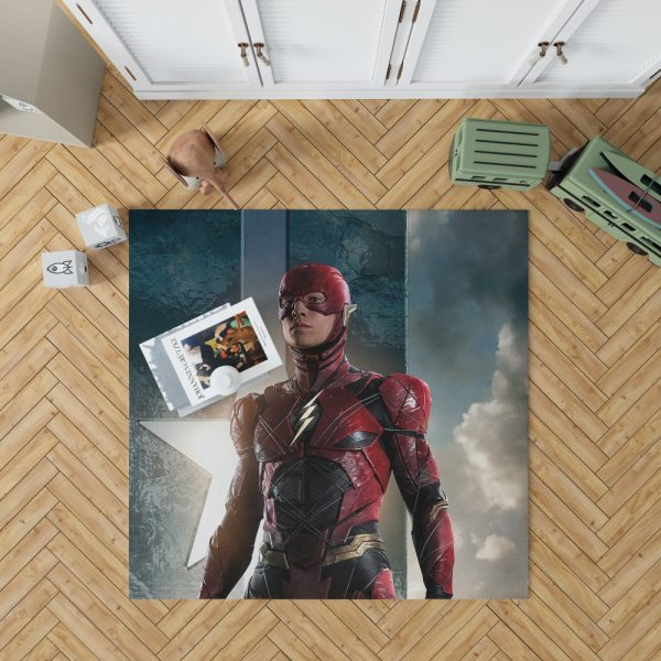 The Flash Justice League Bedroom Living Room Floor Carpet Rug 1