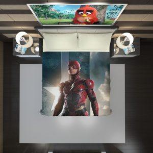 The Flash Justice League Duvet Cover 2