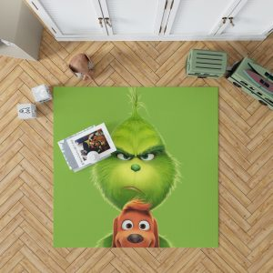 The Grinch Movie Bedroom Living Room Floor Carpet Rug 1