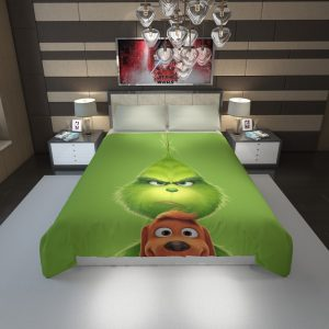 The Grinch Movie Duvet Cover 1