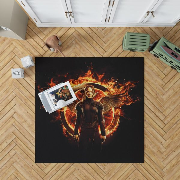 The Hunger Games Movie Bedroom Living Room Floor Carpet Rug 1