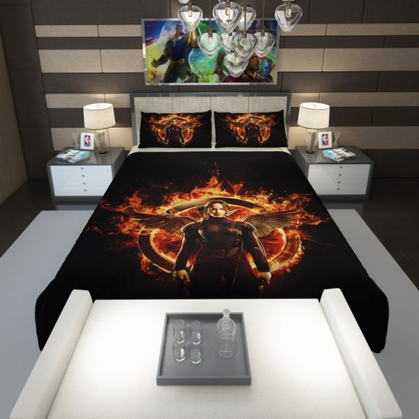 The Hunger Games Movie Comforter 1