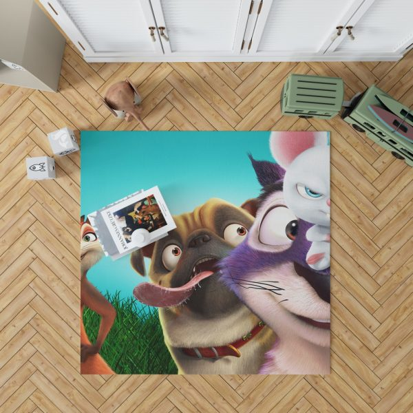 The Nut Job 2 Nutty By Nature Animation Film  Bedroom Living Room Floor Carpet Rug 1