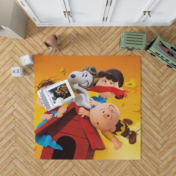 The Peanuts Animation Movie Bedroom Living Room Floor Carpet Rug 1