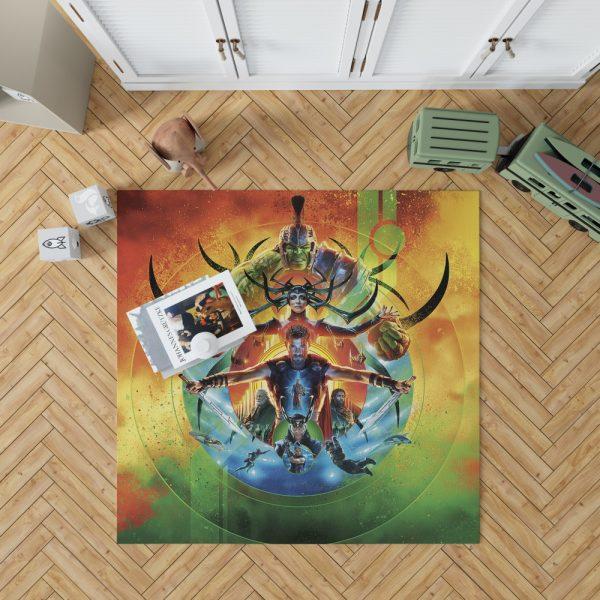 Thor Ragnarok Marvel Cinematic Universe's Bedroom Living Room Floor Carpet Rug 1