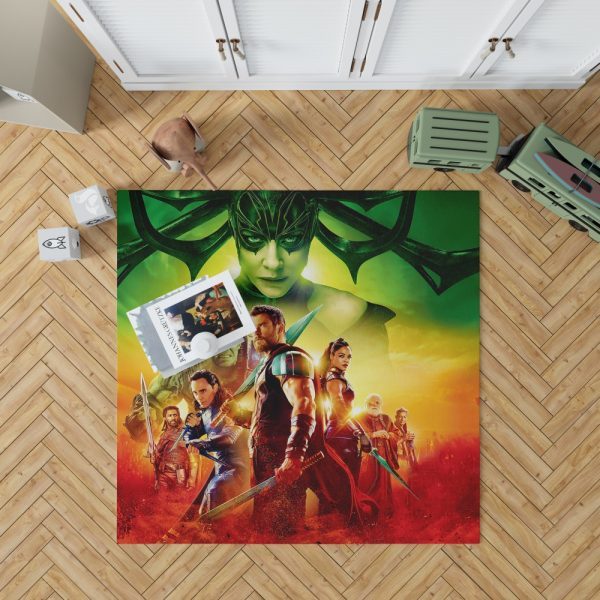 Thor Ragnarok Super Heroes Movie Bedroom Living Room Floor Carpet Rug 1