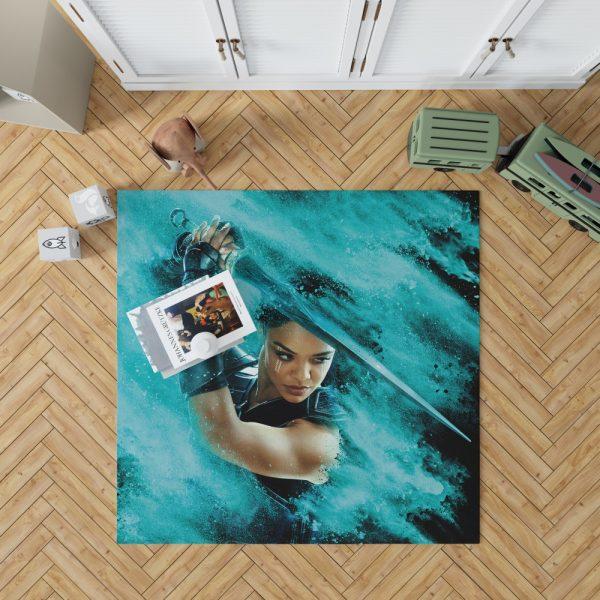 Thor Ragnarok Valkyrie Tessa Thompson Bedroom Living Room Floor Carpet Rug 1
